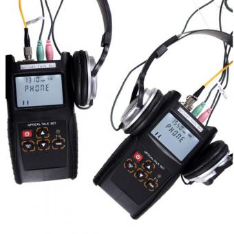 Digital Fiber Optic Talk Set